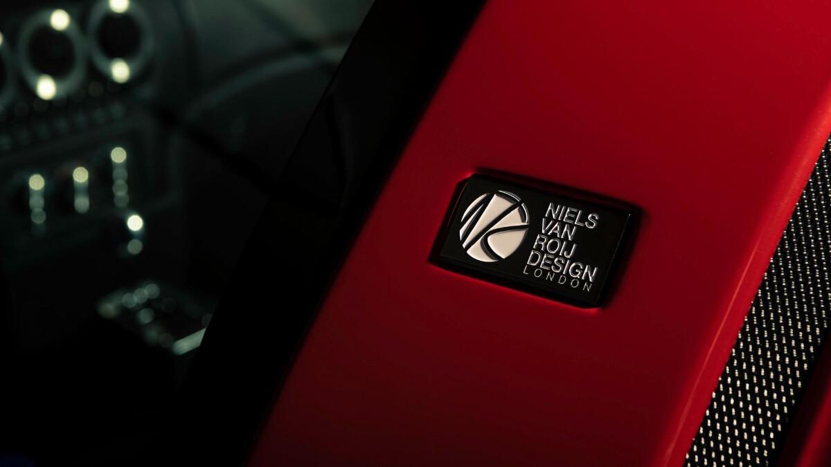 The Ferrari Breadvan Hommage - Neils Van Roij Design Emblem
