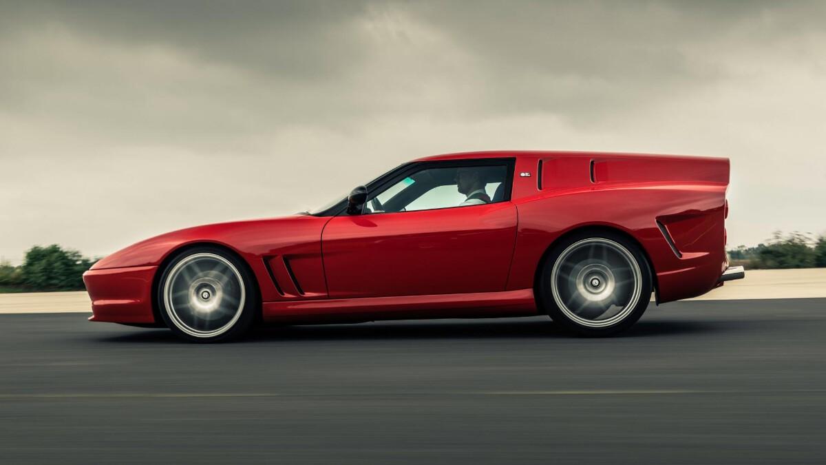The Ferrari Breadvan Hommage- Profile