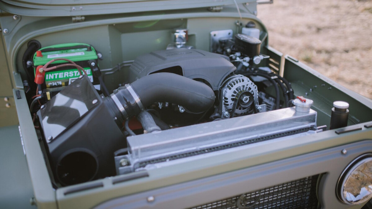 The Toyota FJ44 Land Cruiser - Engine