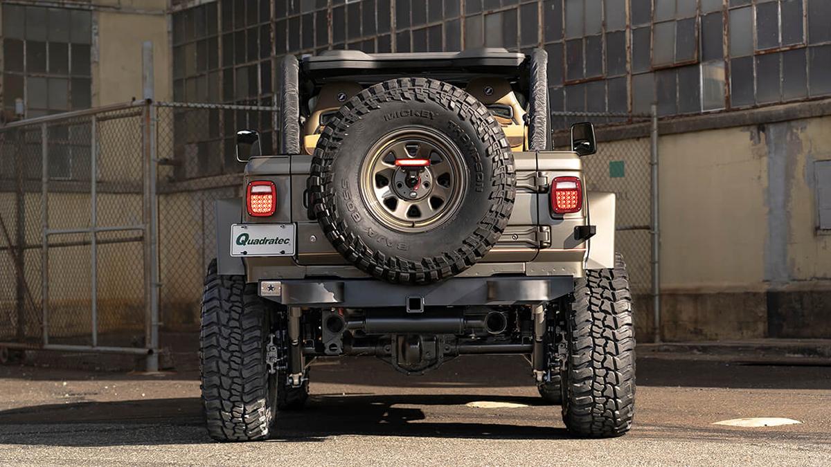 The Quadratec Jeep Wrangler - Rear View