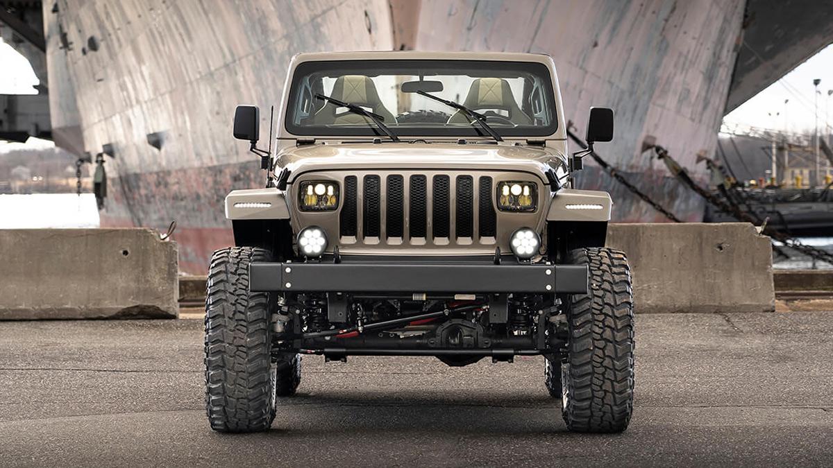 The Quadratec Jeep Wrangler - Front View