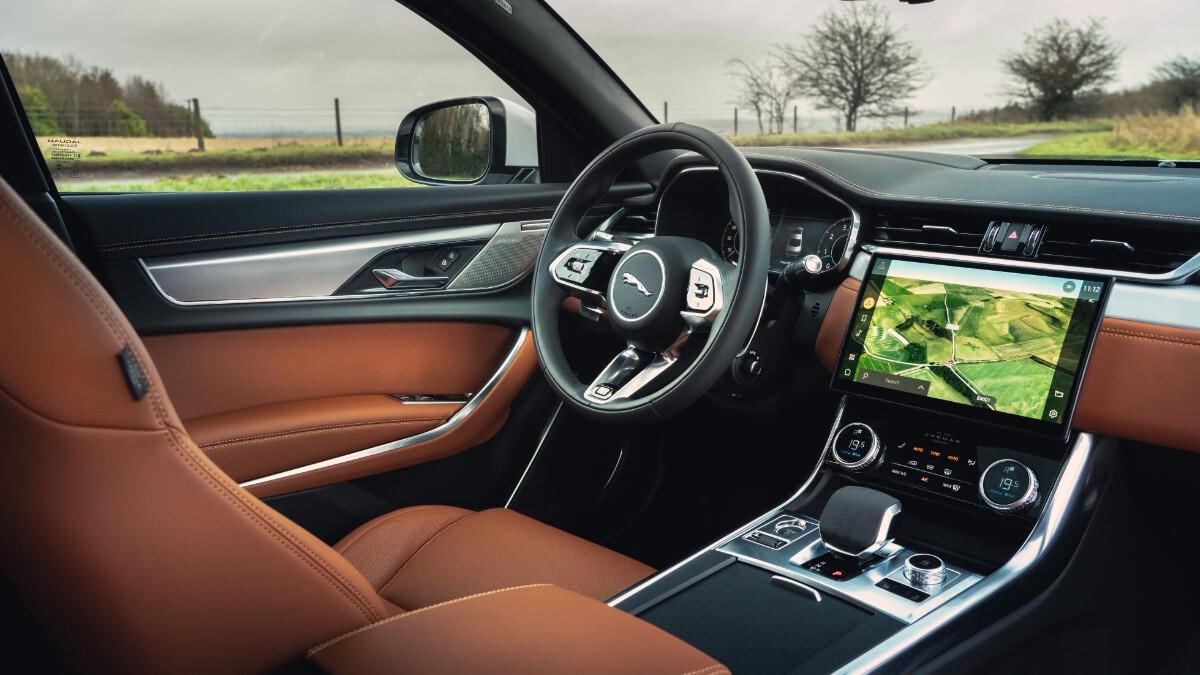 Jaguar XF P300 R-Dynamic - Interior, Steering Wheel