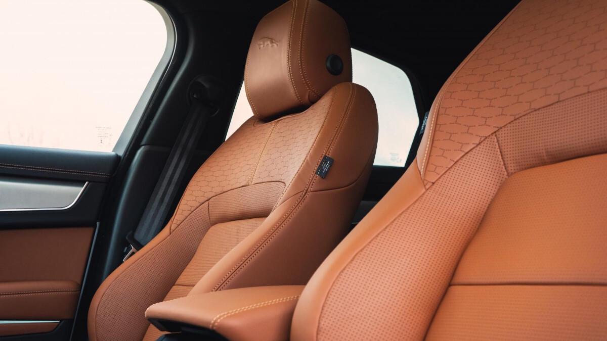Jaguar XF P300 R-Dynamic - Seat Details