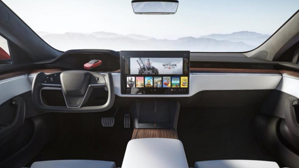 The Tesla Model S - Interior