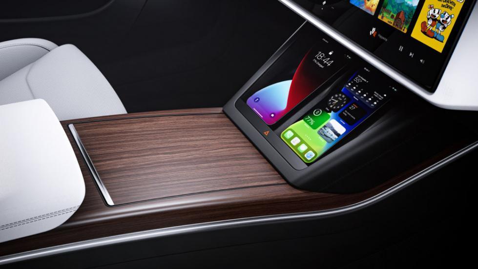 The Tesla Model S  - Phone Docks