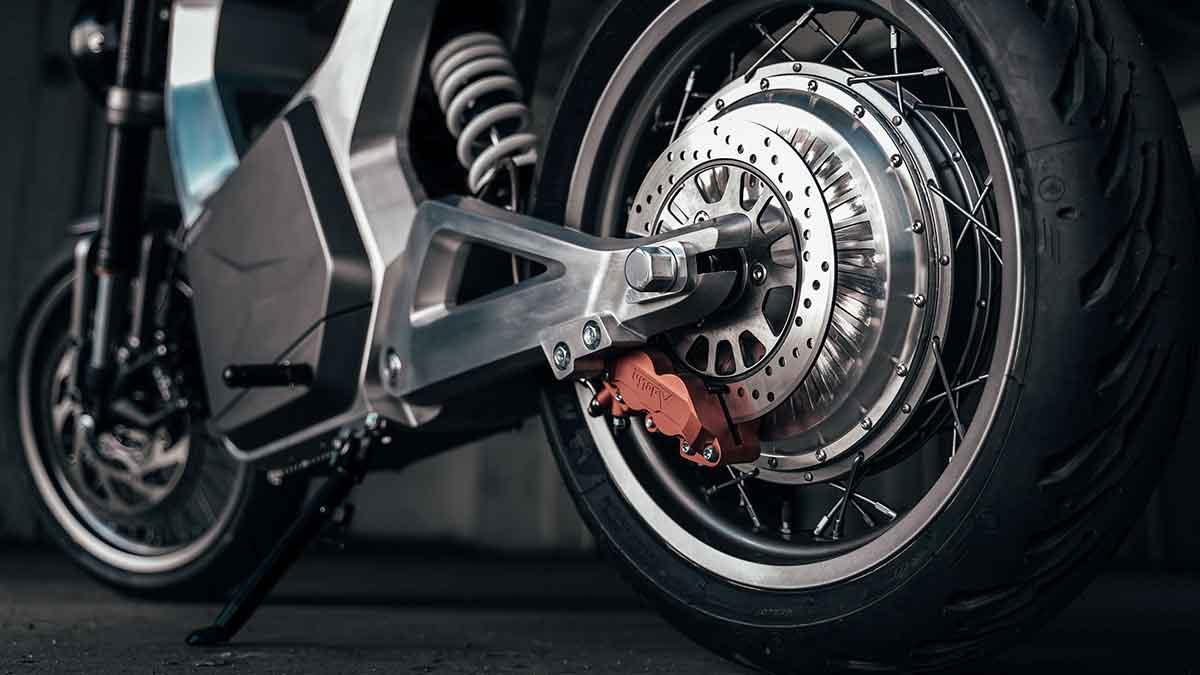 The Sondors Metacycle - Wheels Close Up