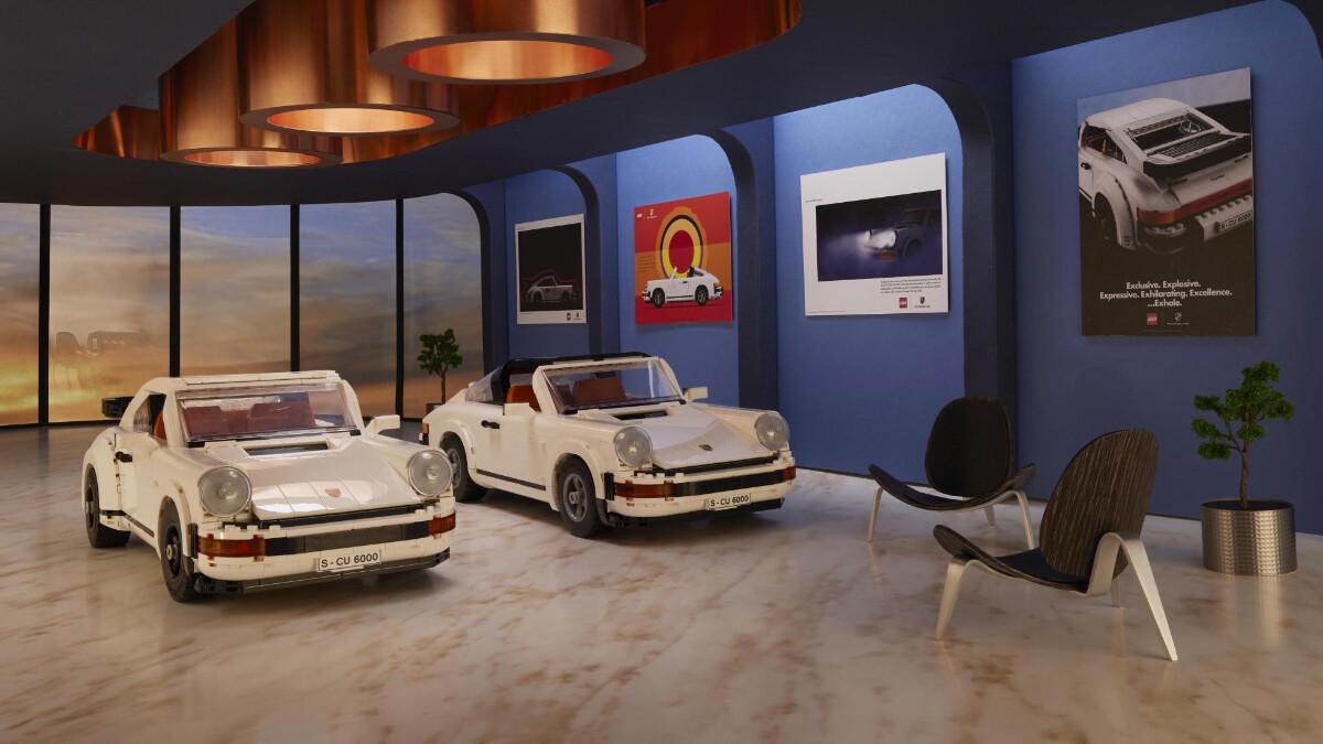 The New Porsche Lego Kit - Showroom
