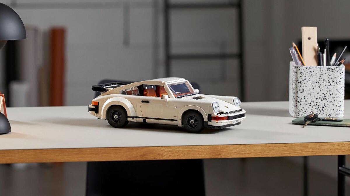 The New Porsche Lego Kit  - Displayed
