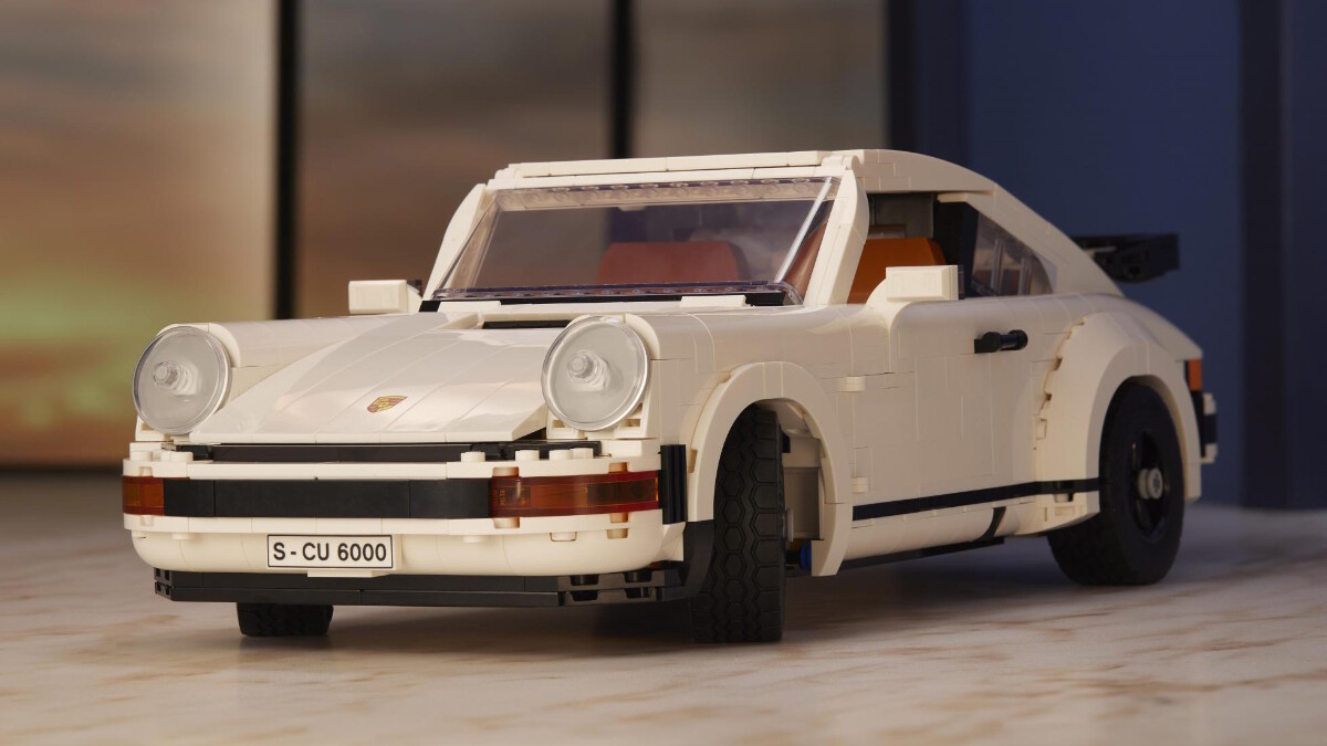 The New Porsche Lego Kit  - Front Angled View