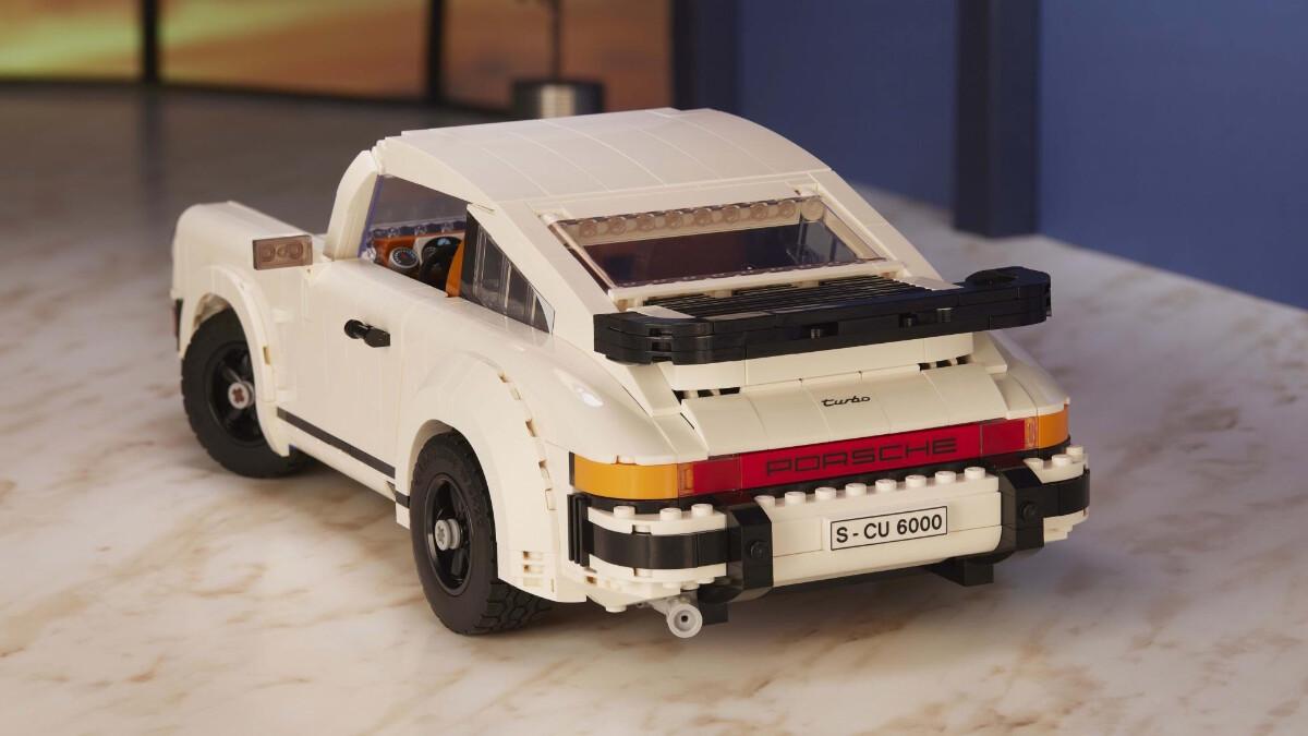 The New Porsche Lego Kit  - Rear Details
