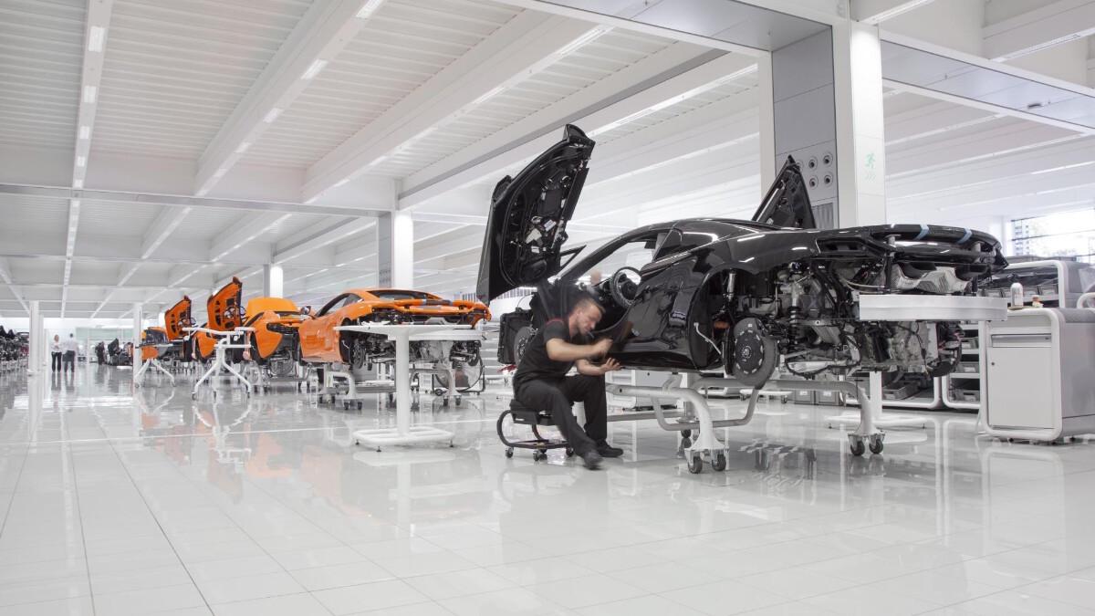 McLaren Warehouse