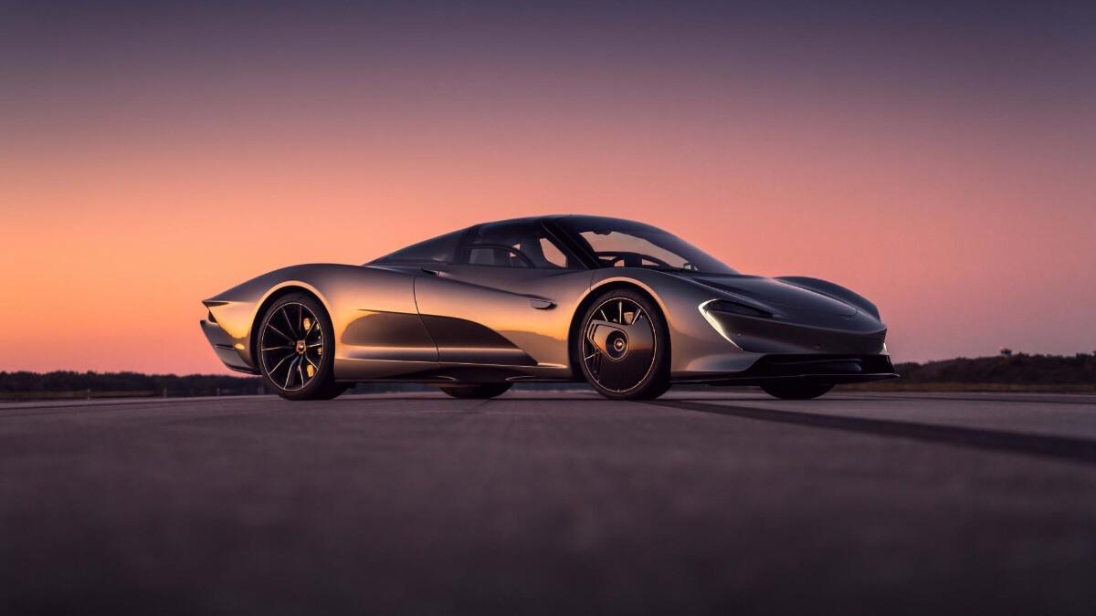 McLaren fastest cars
