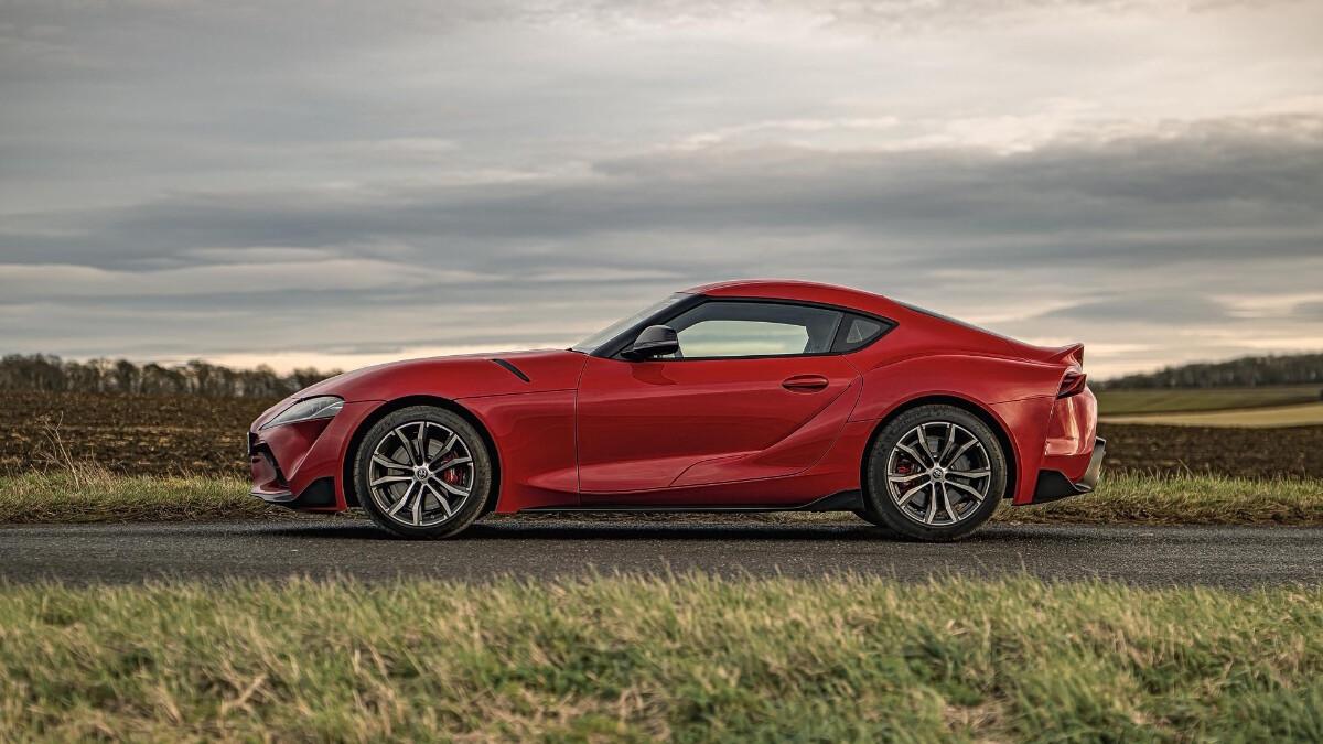 2021 Toyota Supra 2.0 profile