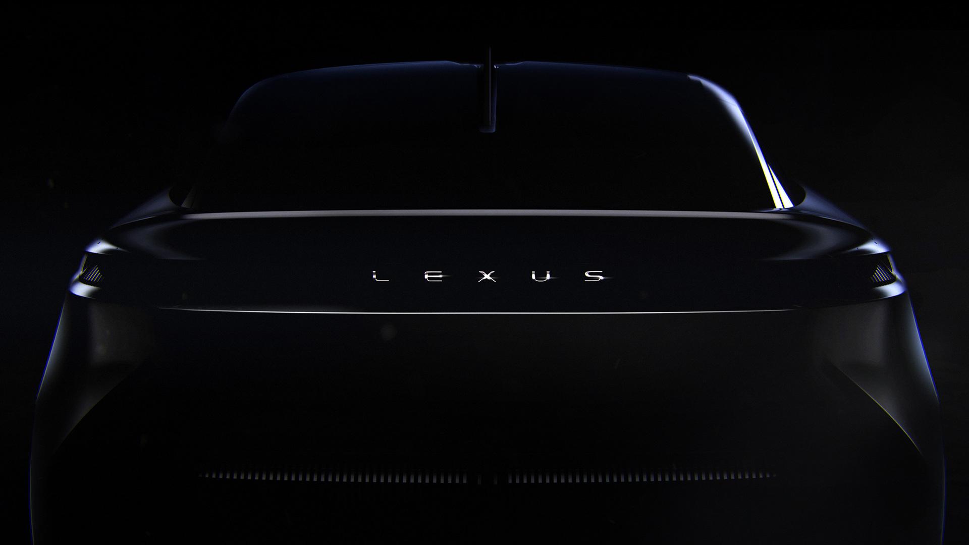Teaser of Lexus' new concept car