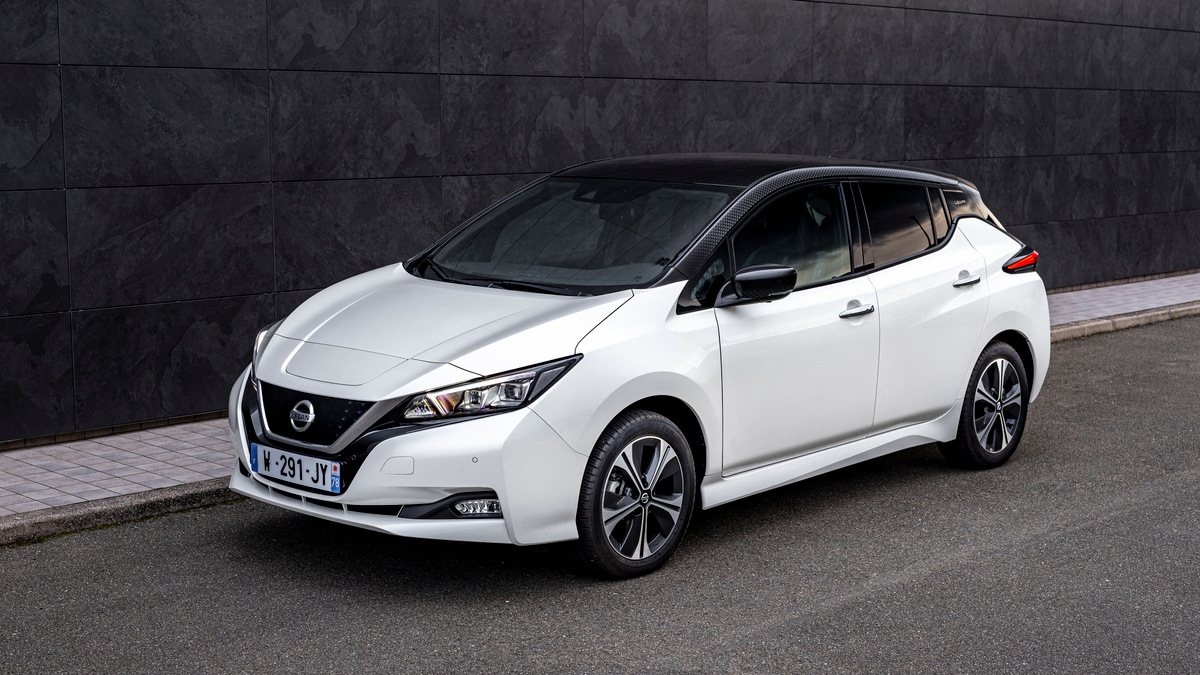 Nissan's new Leaf10 EV