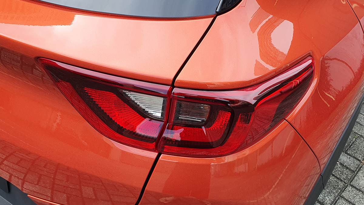 The Kia Stonic - Tail Light Detail