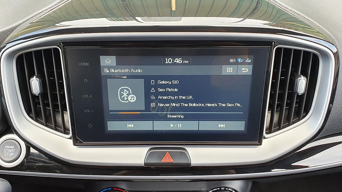 The Kia Stonic - Display Panel, Dashboard