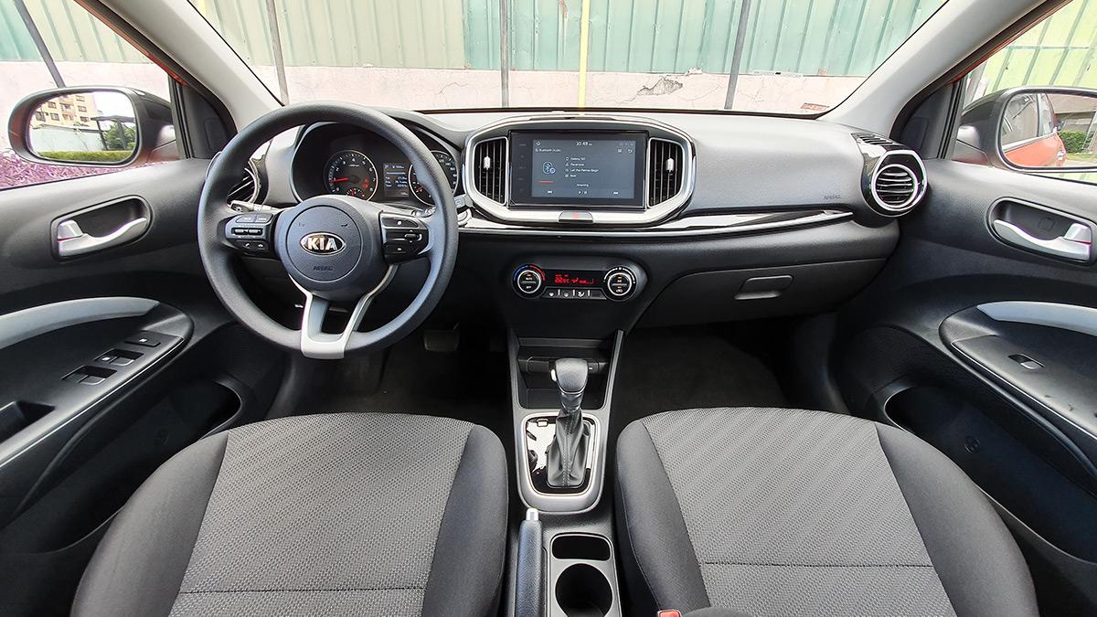 The Kia Stonic - Interior Dashboard View