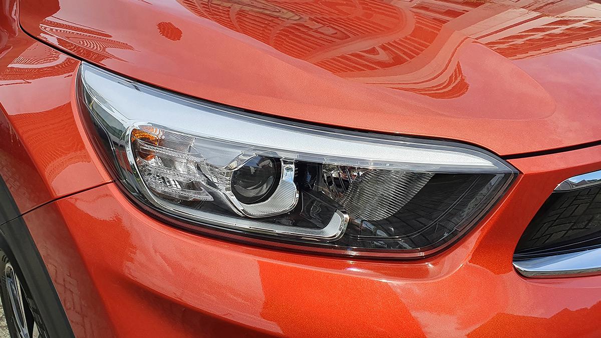 The Kia Stonic - Headlight Feature