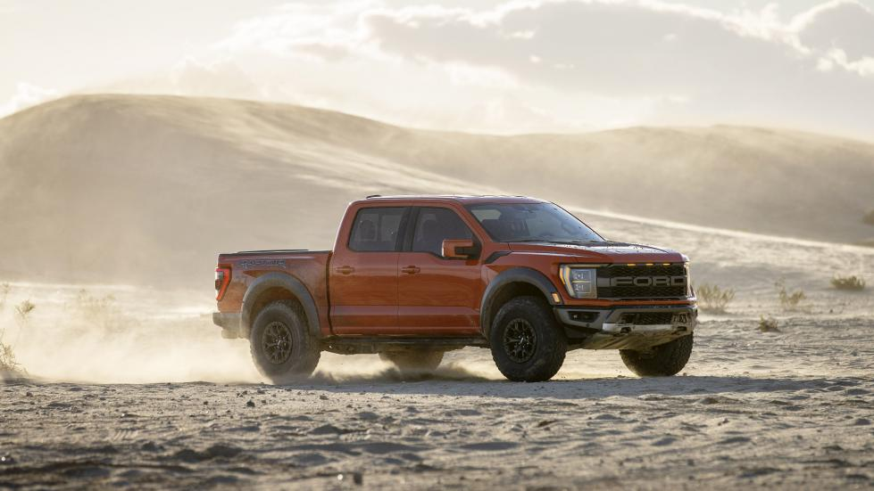 The Ford F-150 Raptor - Off Road in Action