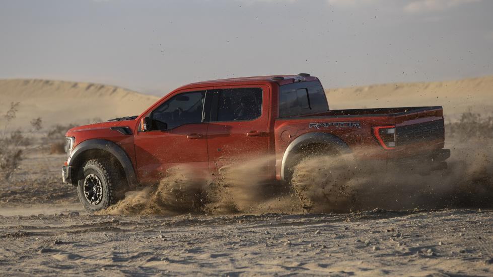 The Ford F-150 Raptor - Off Road Run