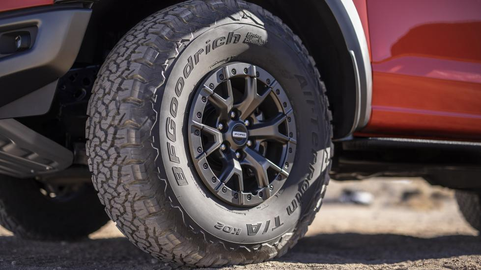 The Ford F-150 Raptor - Front Tire