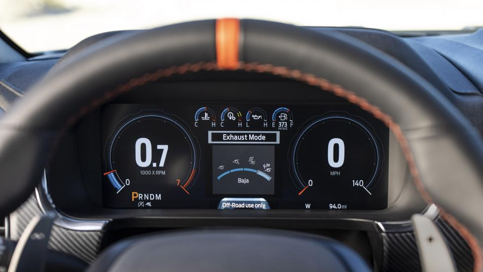The Ford F-150 Raptor - Odometer