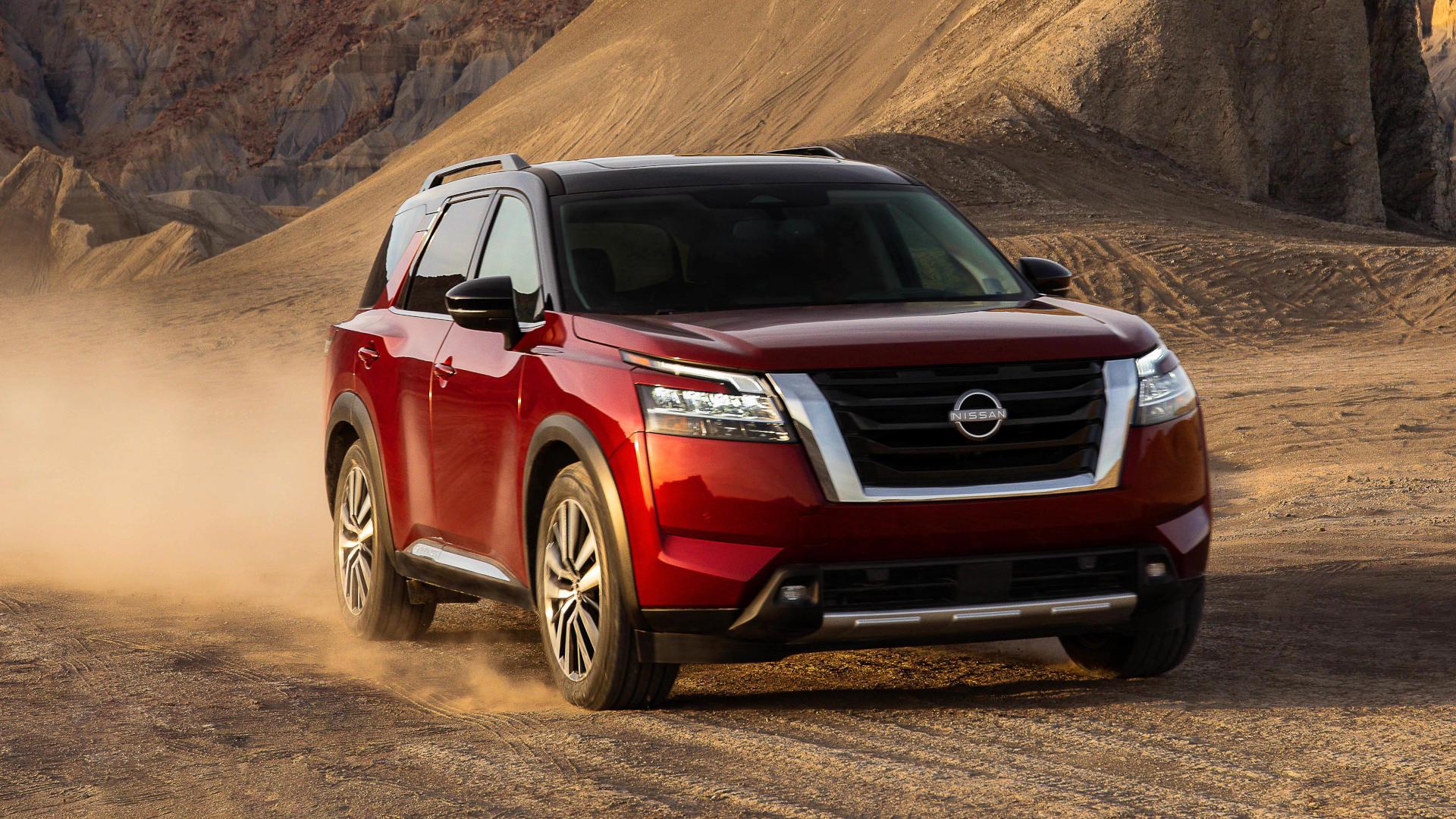 The Nissan Pathfinder