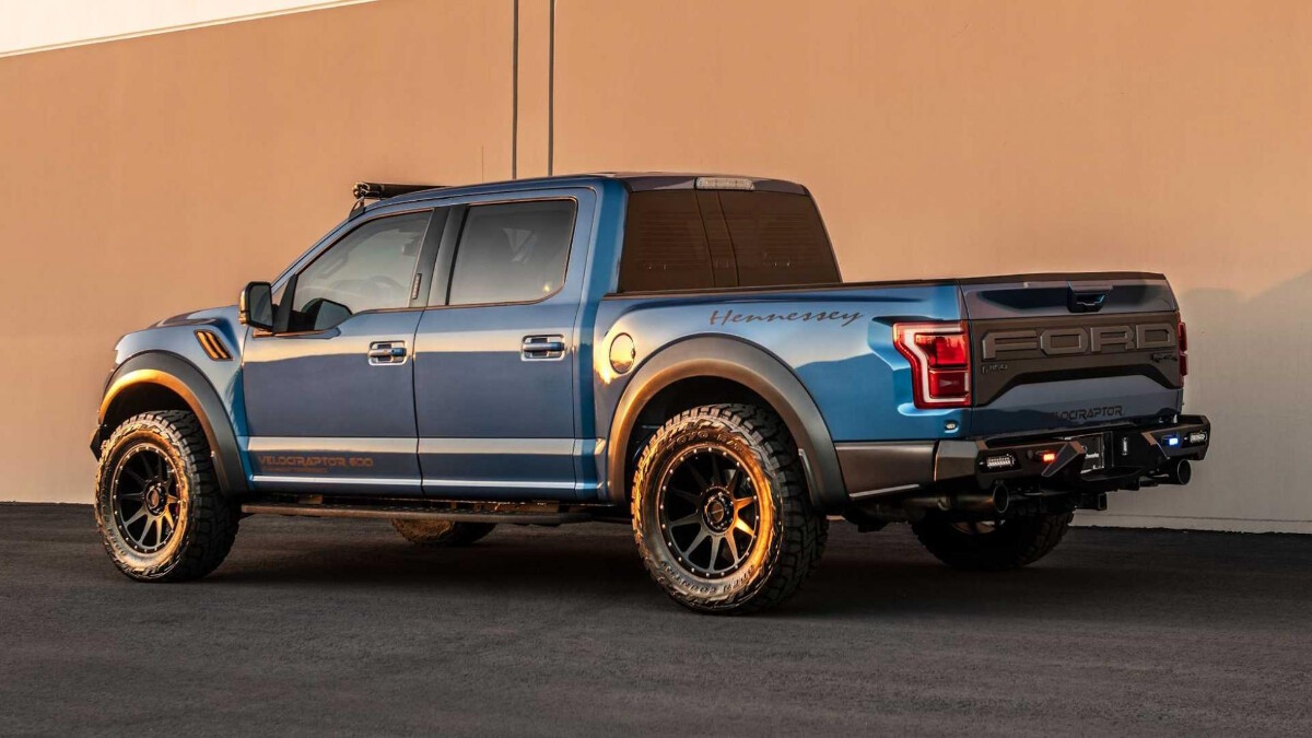 The Hennessey VelociRaptor featuring the Dyneema Armor Plating by AddArmor