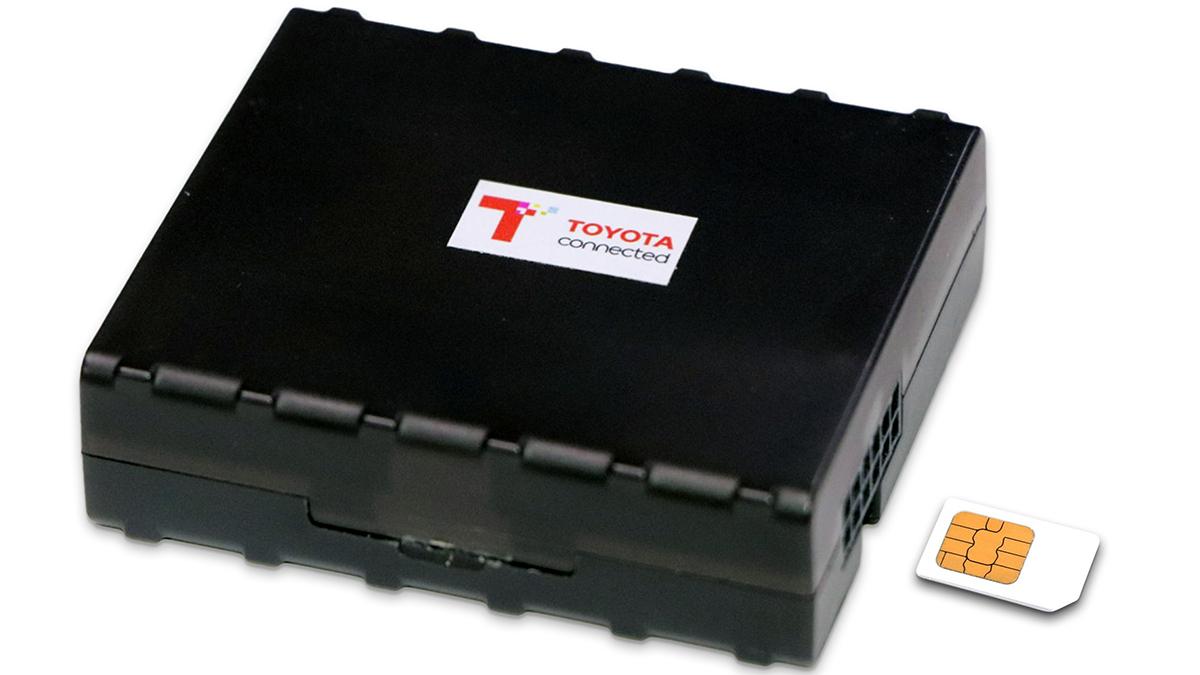 The Toyota GPS module
