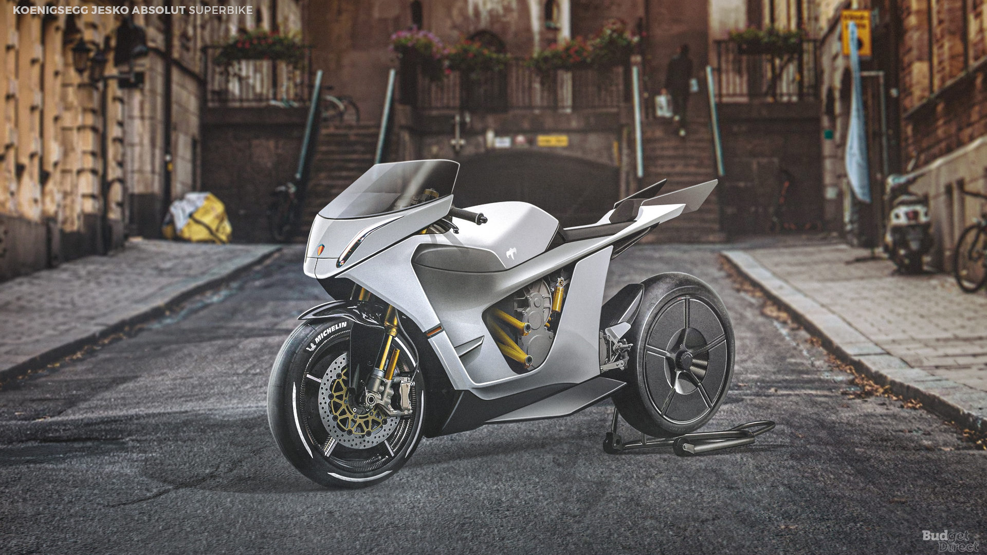 What if supercar brands made superbikes? Here's a take on the Koenigsegg Jesko Absolut
