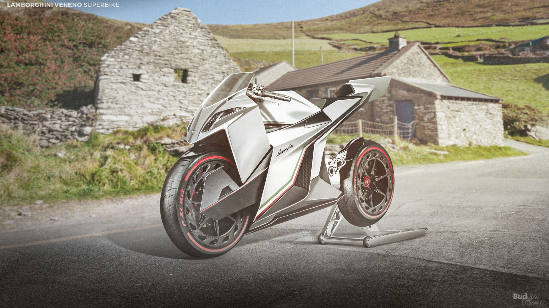 What if supercar brands made superbikes? Let's not forget the Lamborghini, here's one based on the Veneno.