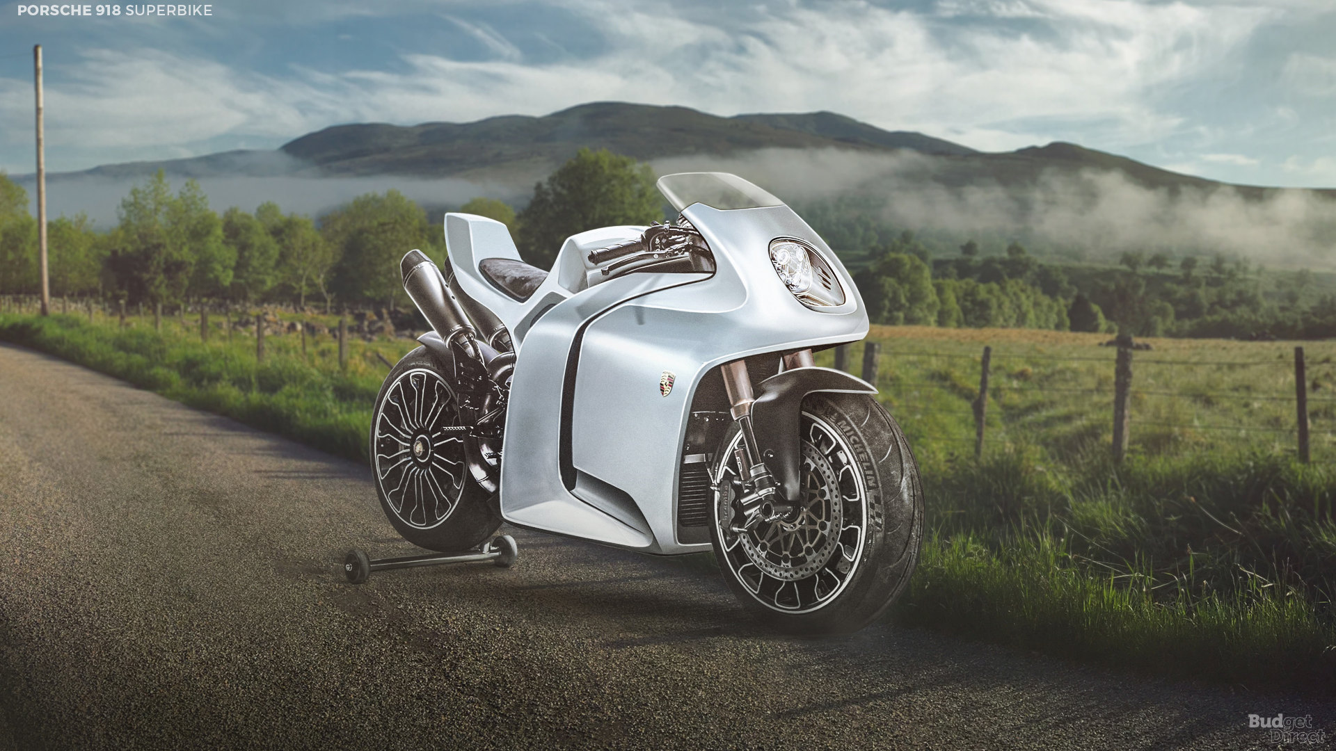 What if supercar brands made superbikes? A Porsche superbike won't hurt, here's one based on the 918 Spyder.