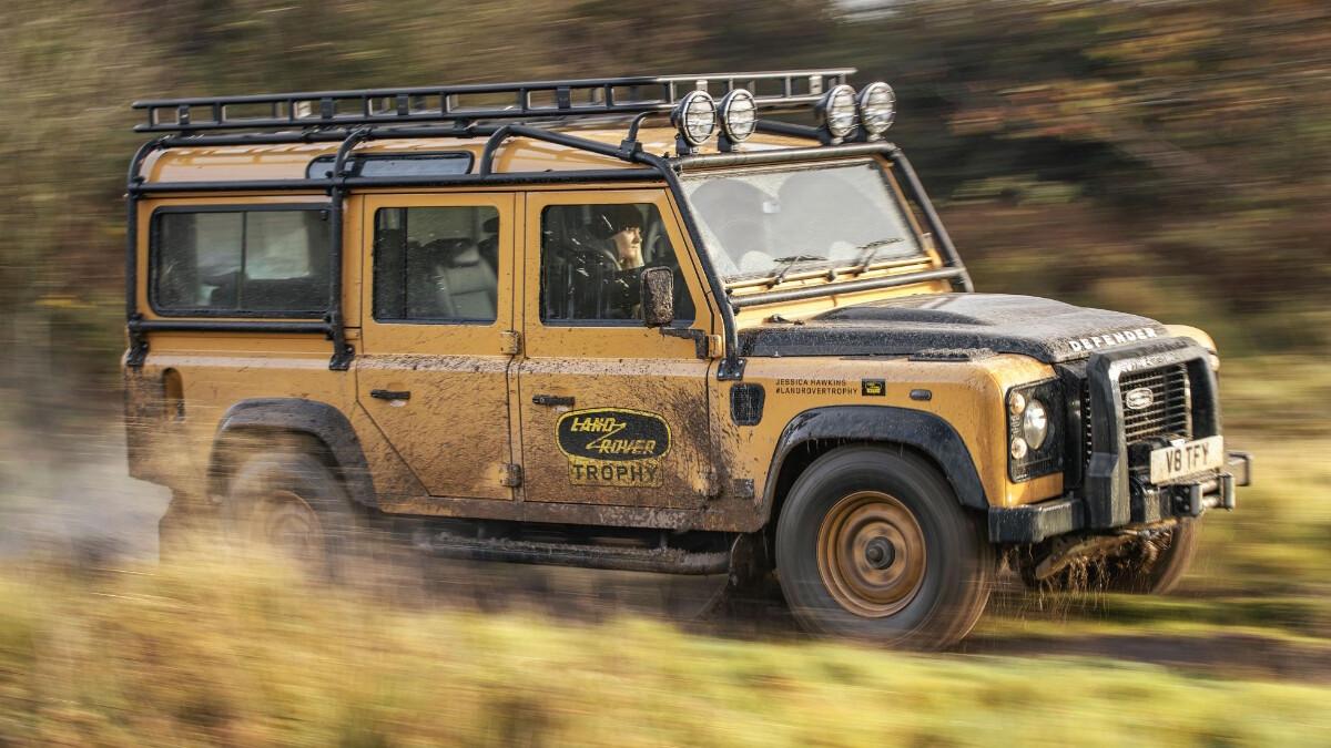 2021 Land Rover Defender V8 Trophy: Price, Specs, Features