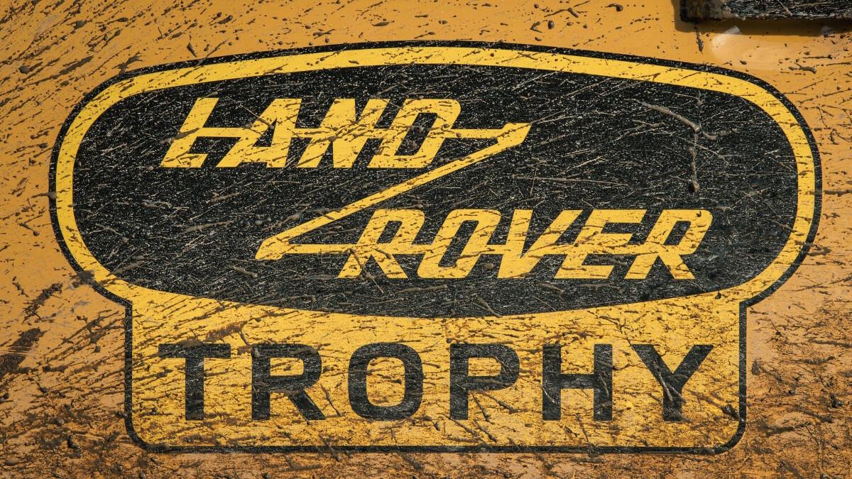 The Land Rover Defender V8 Trophy decal