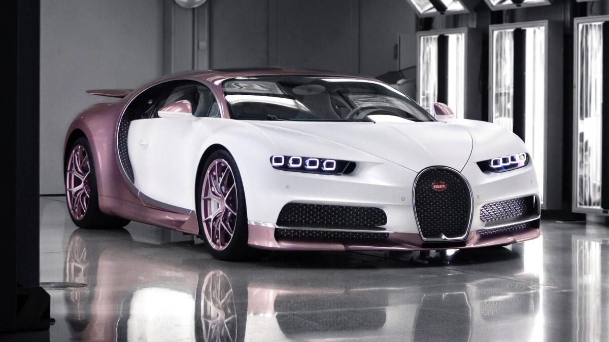 The Bugatti Chiron Sport