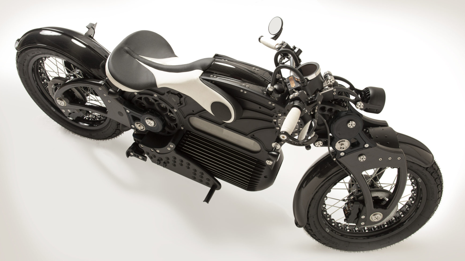 The One by Curtiss Motorcycles - Top View Black