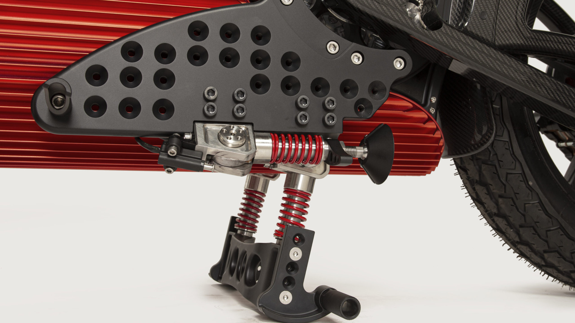 The One by Curtiss Motorcycles - Kick Stand