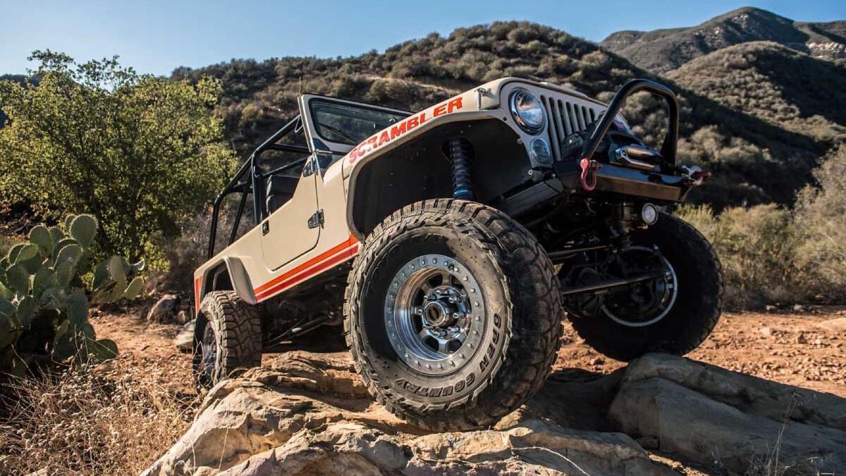 Jeep Scrambler by Legacy Classic Trucks