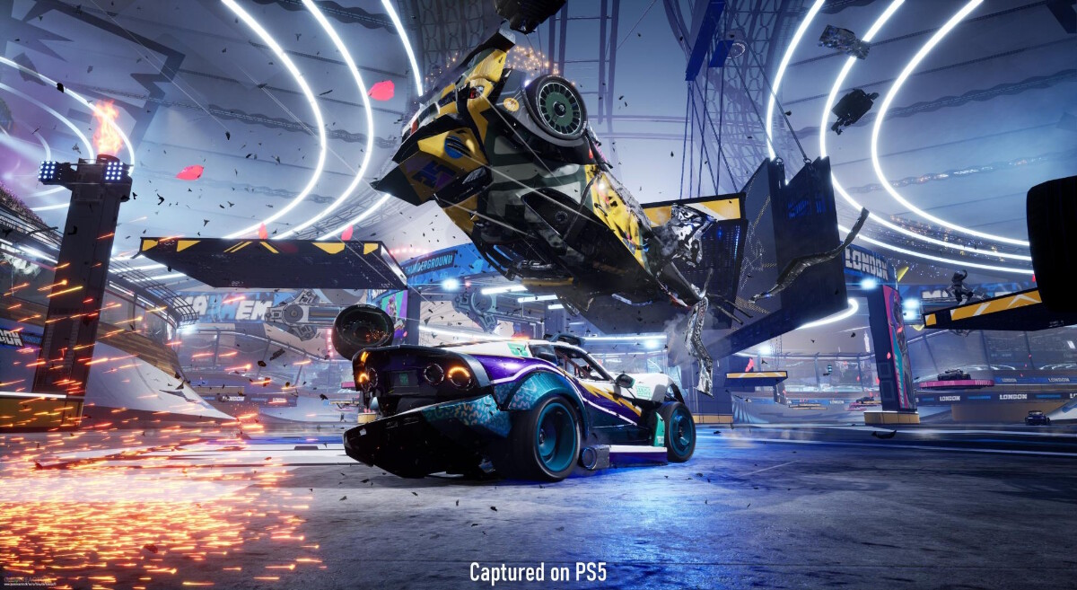 Gameplay screenshot of Destruction All-Stars on the PS5