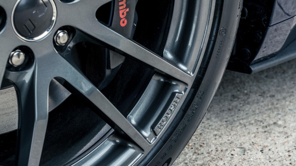 The Stage 3 Ford Mustang rim detail
