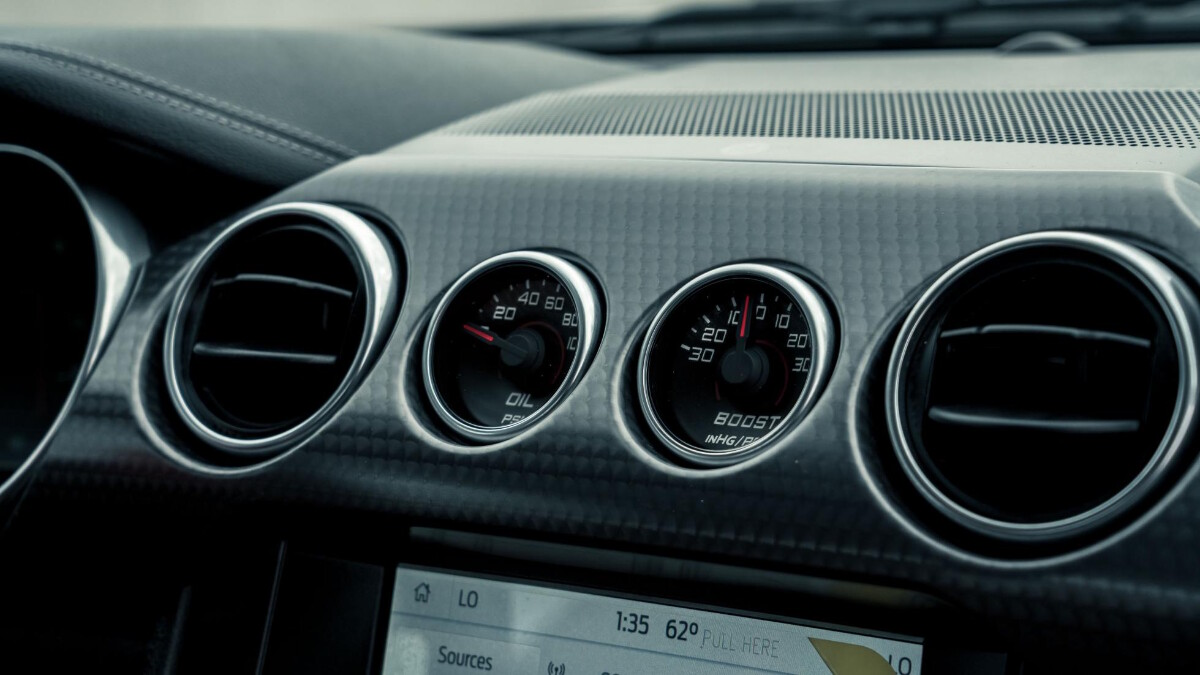 The Stage 3 Ford Mustang odometer