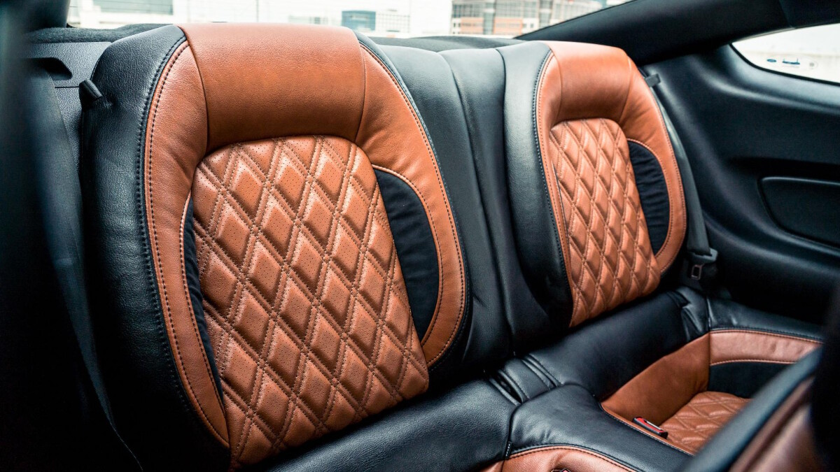 The Stage 3 Ford Mustang interrior upholstery
