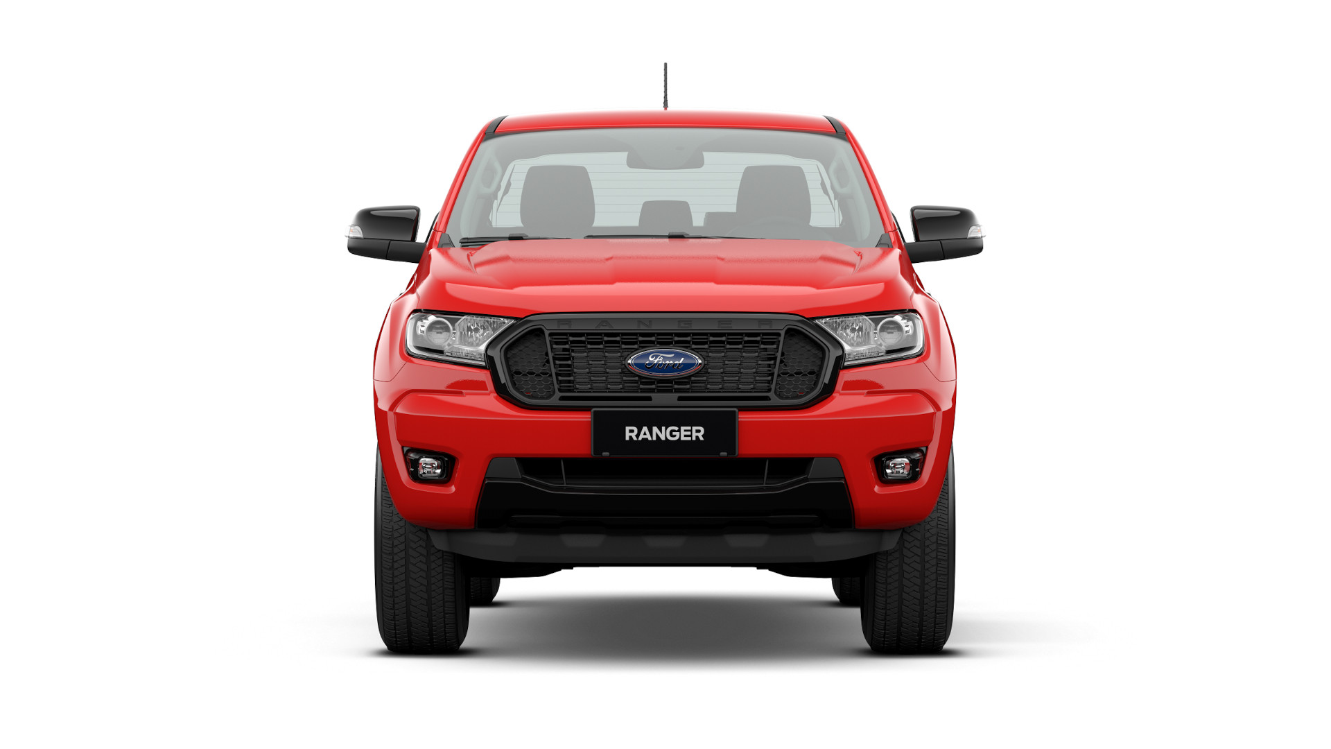 Ford Ranger FX4 XLT - Red Variant
