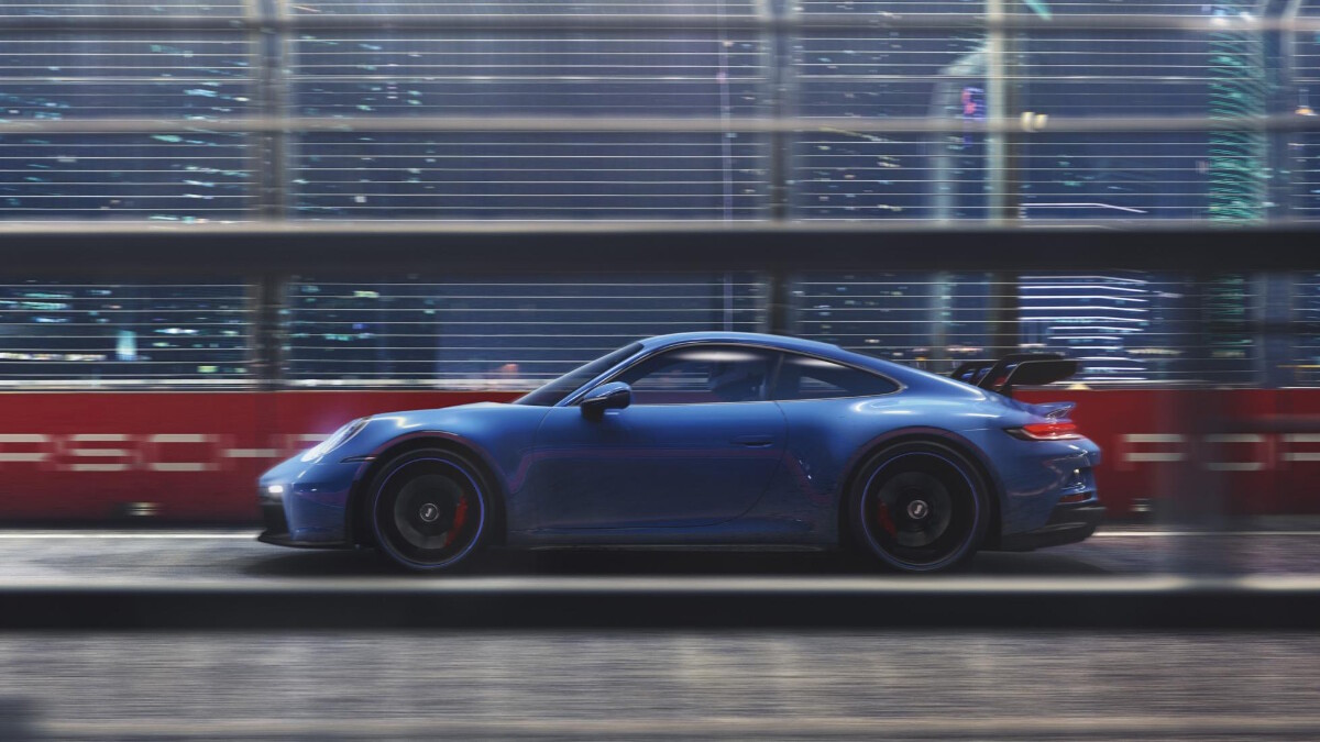 Porsche 911 GT3 profile view