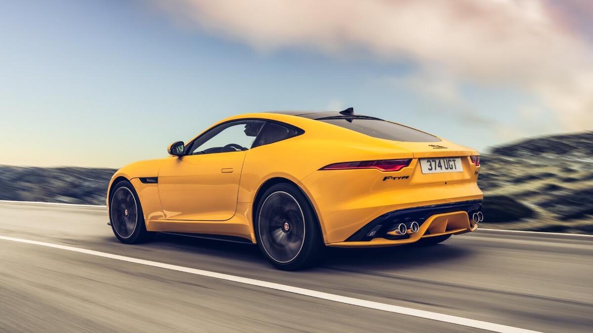 The Jaguar F-Type