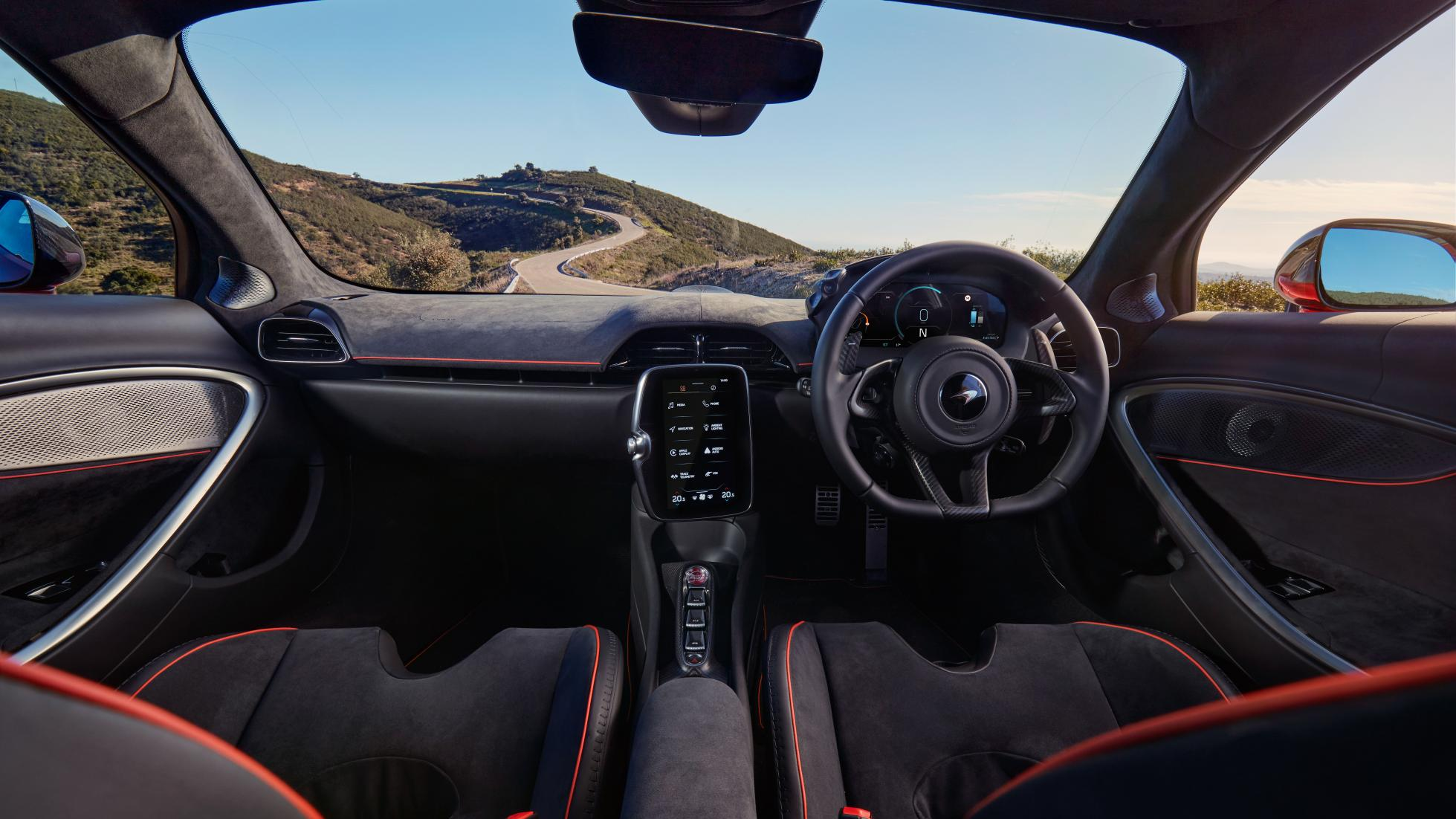 McLaren Artura dashboard feature