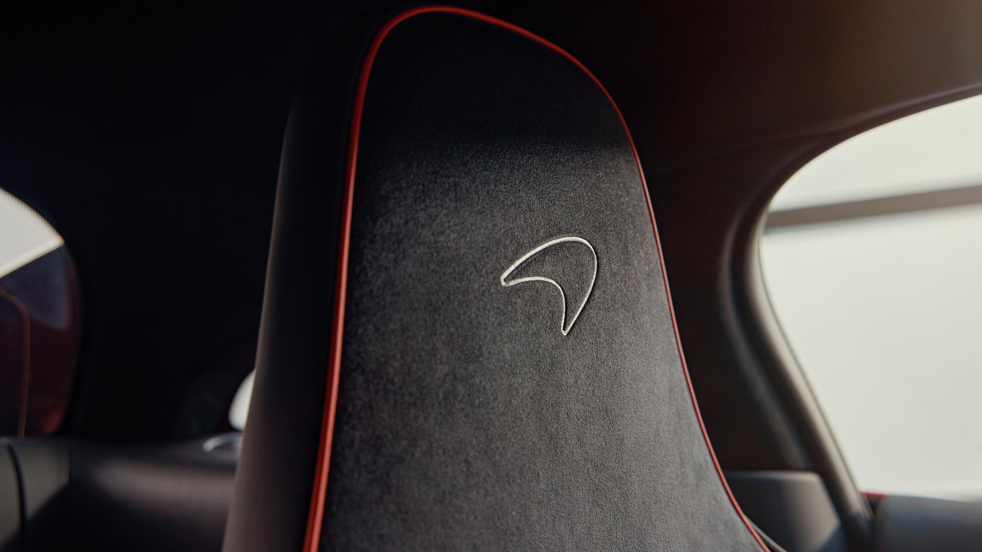 McLaren Artura passenger's seat detail