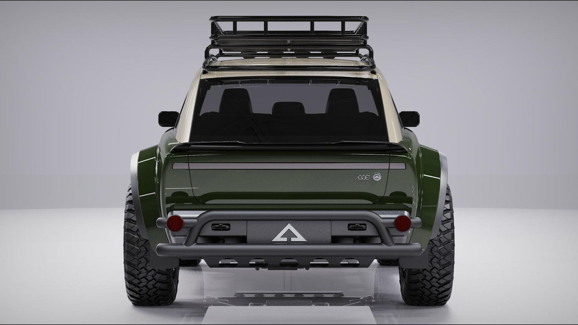 Alpha Jax rear view
