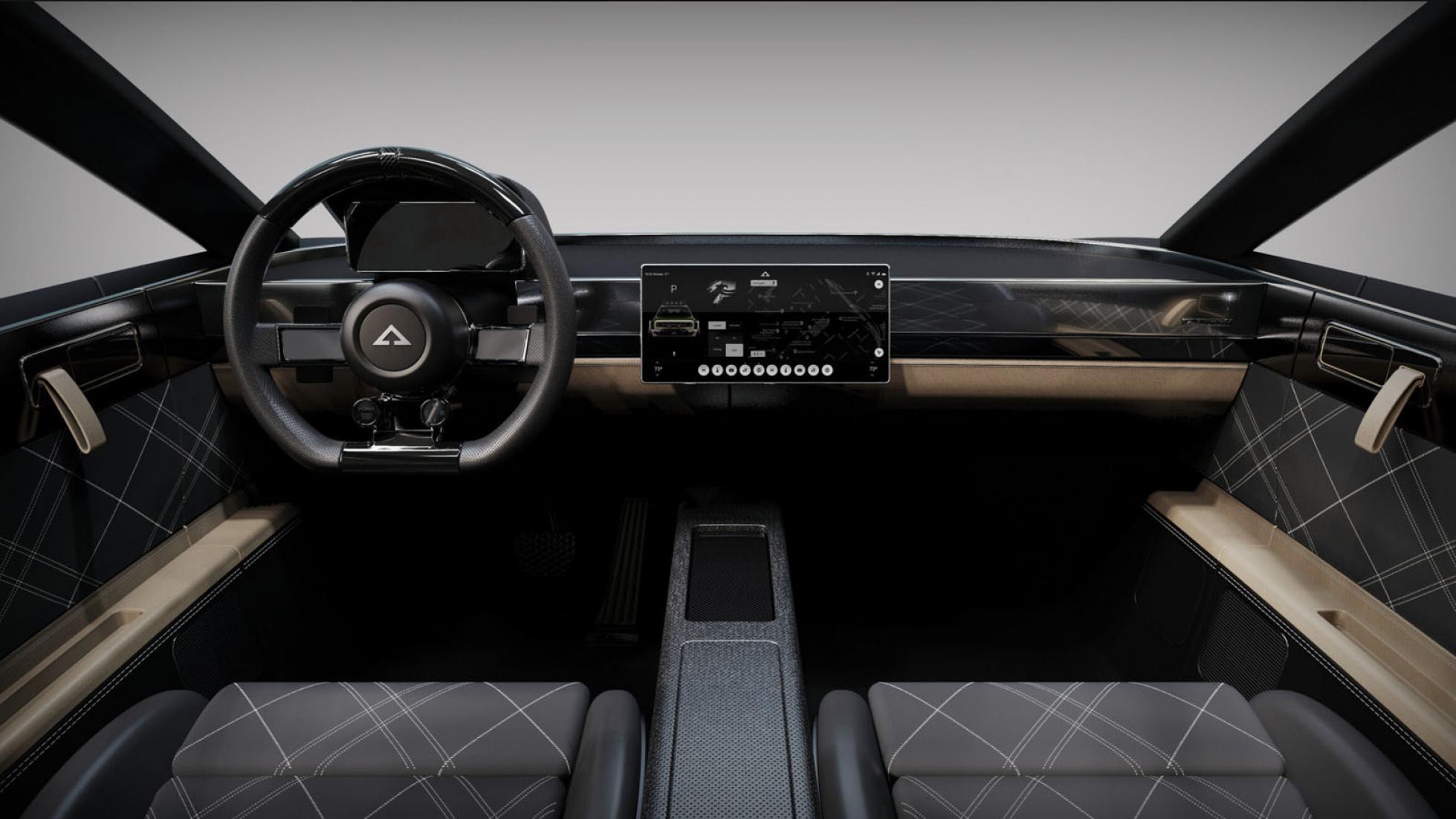 Alpha Jax dashboard front view
